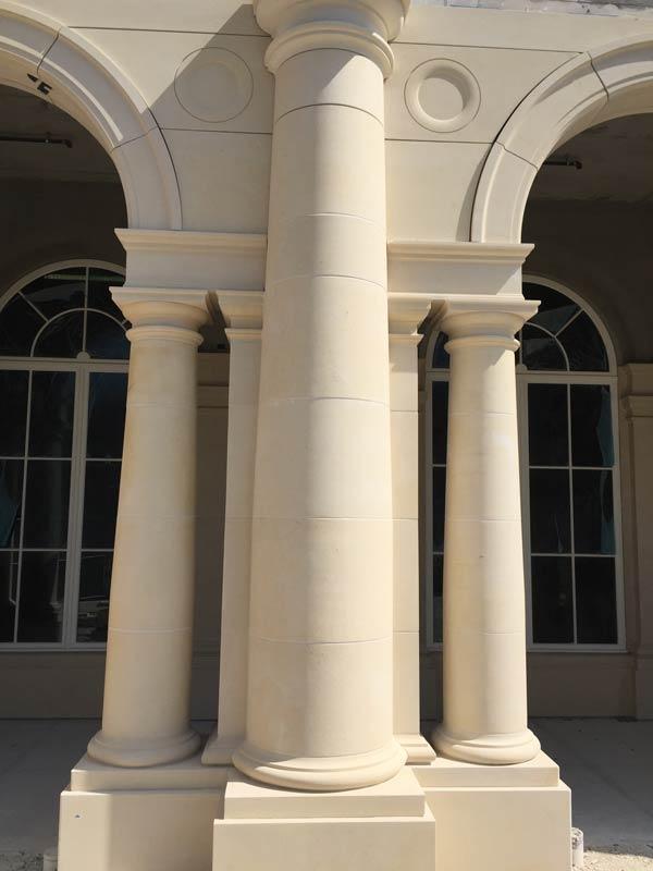 Pierre Caen Doric Columns